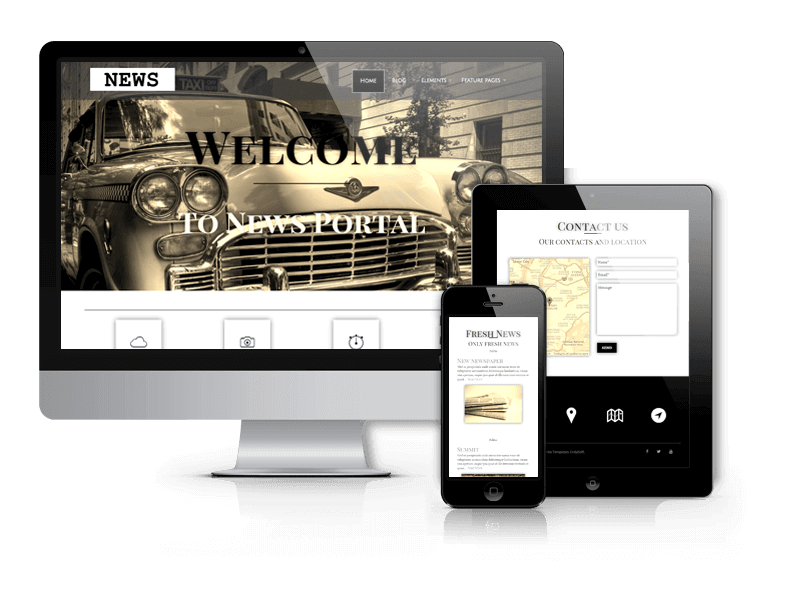 WordPress News Theme