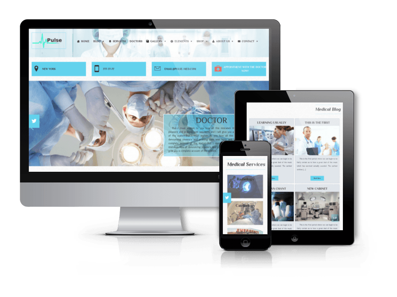 Medical WordPress Theme Pulse