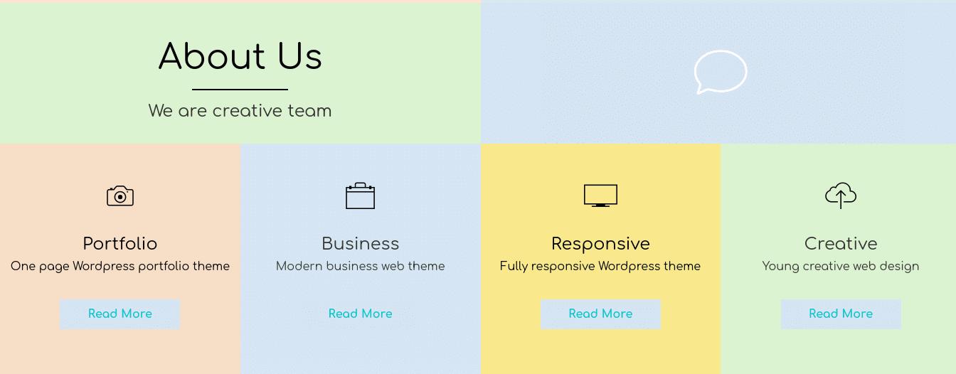Responsive Human, Metro wordpress theme
