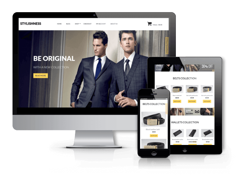 WordPress eCommerce Theme Stylishness