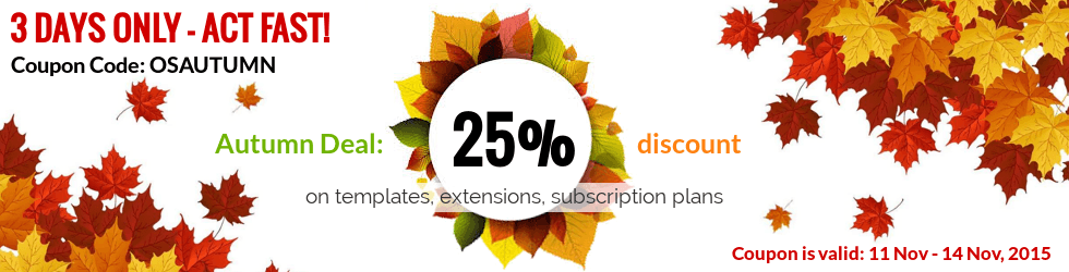 Ordasoft Autumn discount