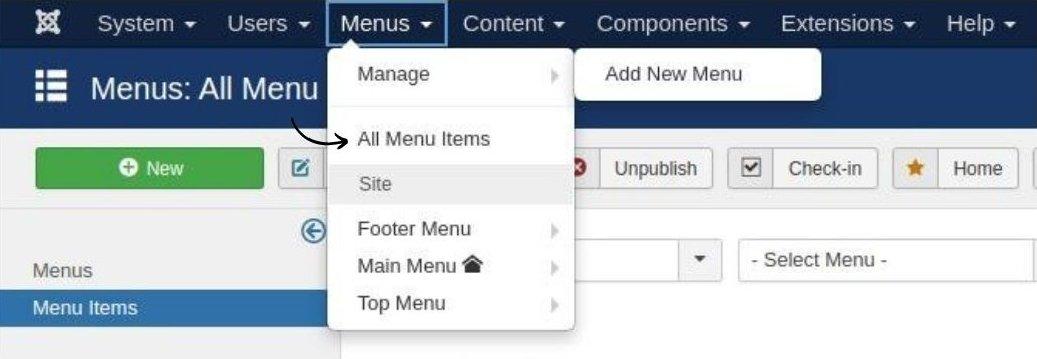 create mega menu in website builder