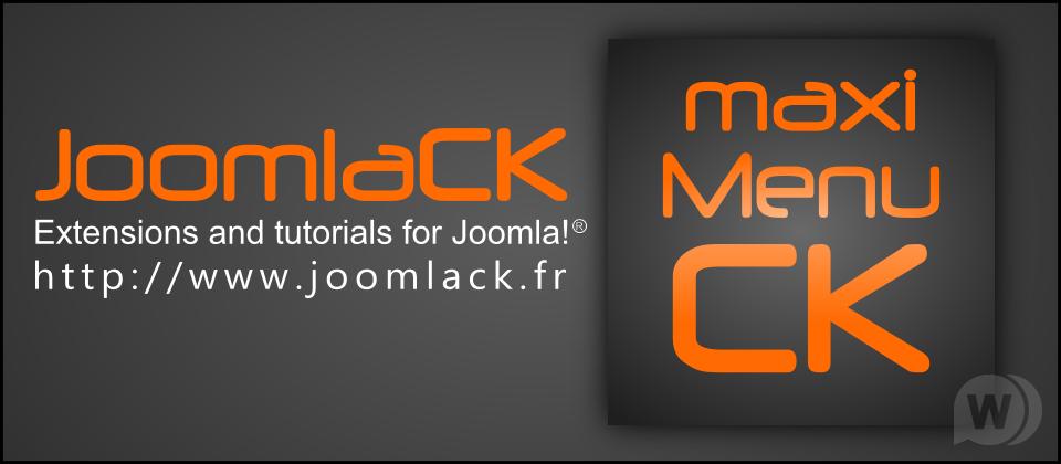 ck maximenu, mega menu module