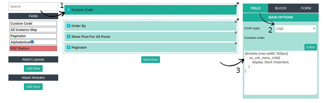 Joomla mega menu for mobile
