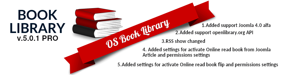 Create online library. New version of Book Library