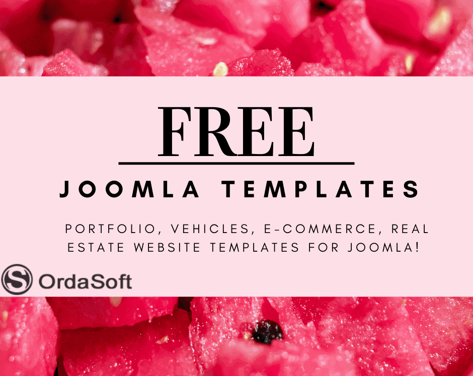 free joomla templates 2021