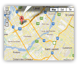 Location Map Google Maps Joomla Module - How to add google map in contact us page