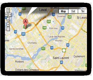 Location Map - Google Maps Joomla module