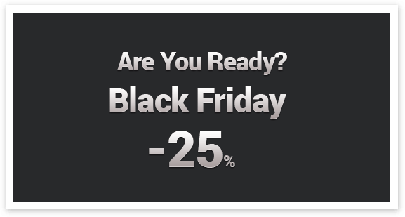 Black Friday and Cyber Monday in Ordasoft 2013