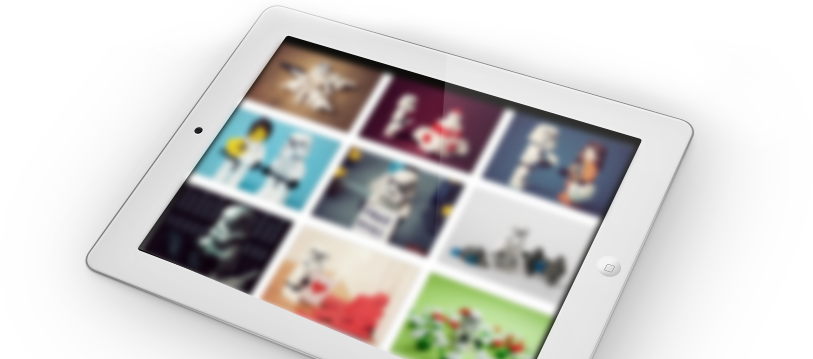 amazin Gallery posobilities in Joomla Blog template