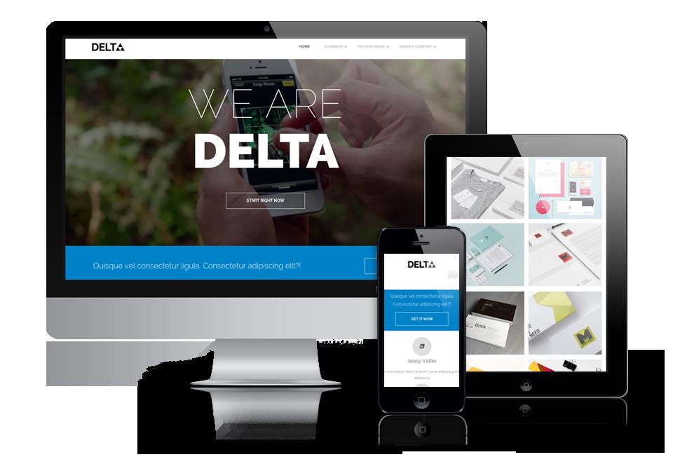 OS Delta – creative Joomla 3.x template
