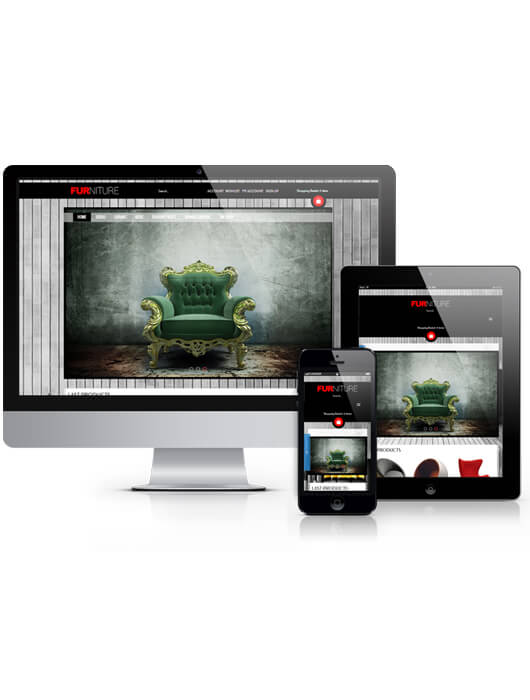 Furniture, Virtuemart Joomla template 2013