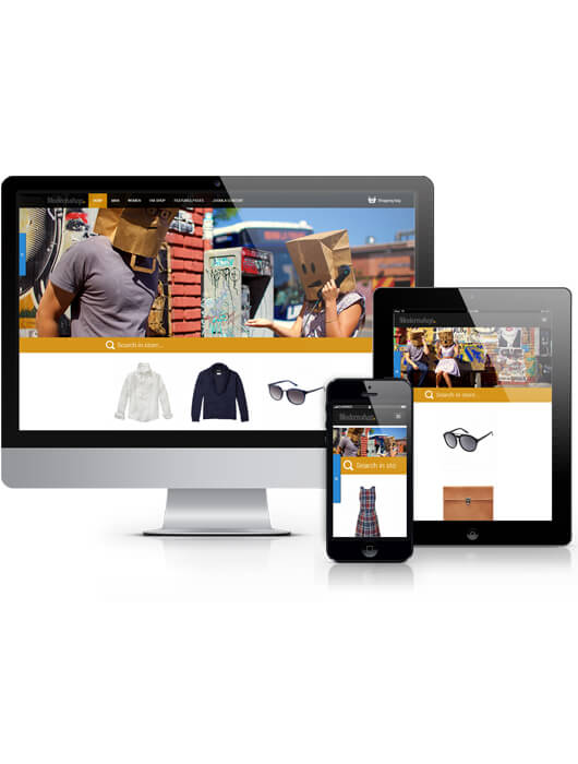 Modernshop, fashion Virtuemart Joomla template 2013