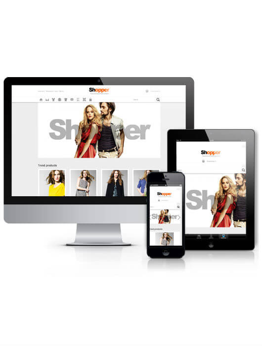 Shopper, Virtuemart Joomla template 2013
