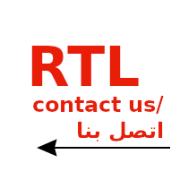 Support Right To Left (RTL) and Left To Right(LTR) Language