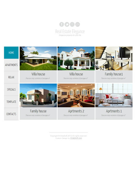 Joomla Template Real Estate Elegance, soon on    | News | News