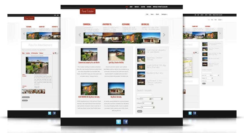 Joomla Estate Real Estate