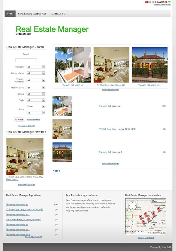 Real estate manager full site