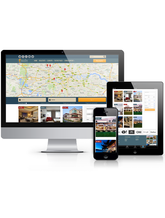World Property, responsive real estate Joomla template, 2013
