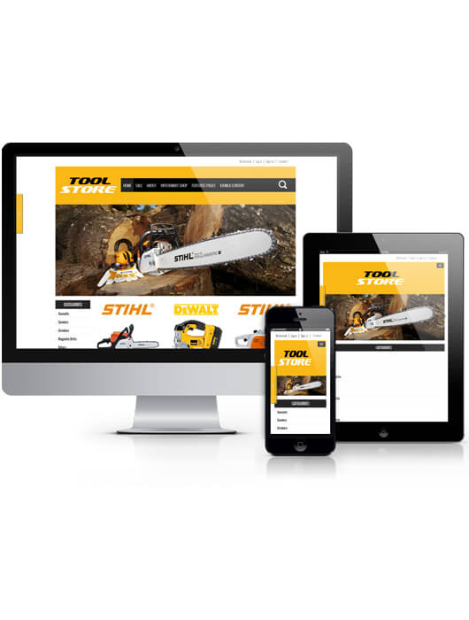 OS Tool Store, equipment Virtuemart Joomla template 2013