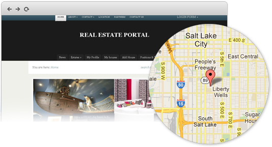 Build Real Estate website