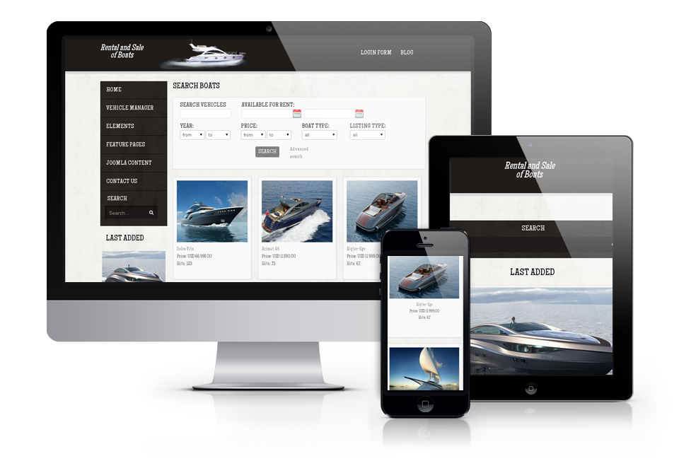 OS Boats – rent and sell yachts and cars