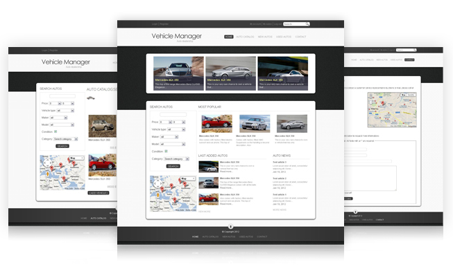 Vehicle manager full site
