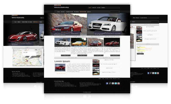 Joomla Template Auto Dealership