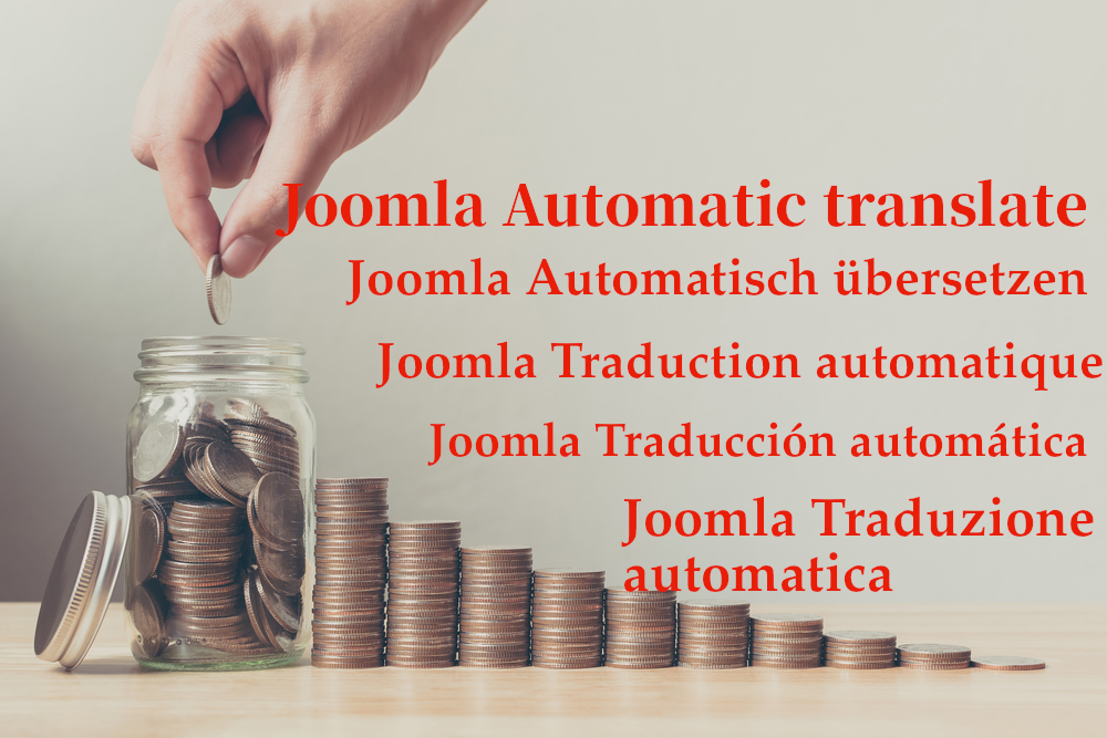 Save money on website translation with Joomla translation extension Sef Translate